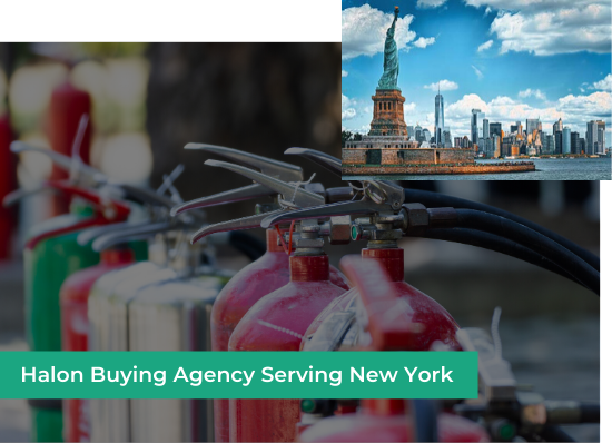 halon buying agency new york
