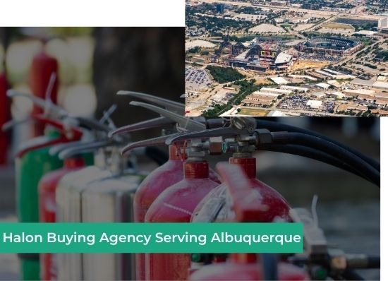 halon buying agency albuquerque