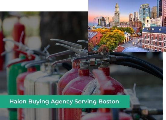 halon buying agency boston