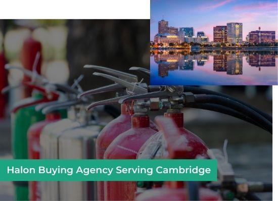 halon buying agency cambridge