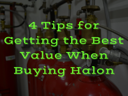 Halon US 4 Tips for Getting the Best Value When Buying Halon