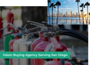 halon buying agency san diego